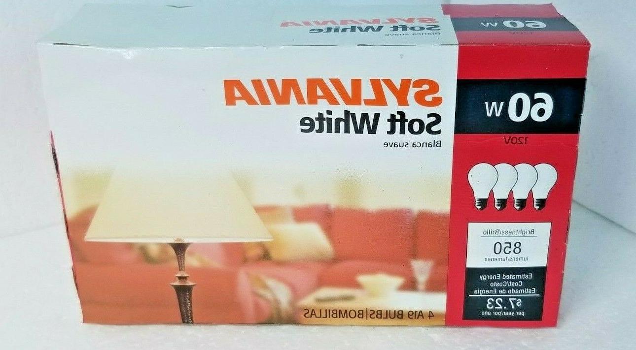 Sylvania Soft Watt 120v A19 Lumens Bulb Lot of
