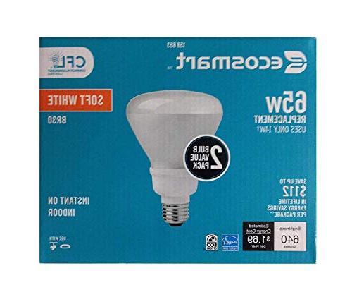 EcoSmart BR30 CFL Light Equivalent