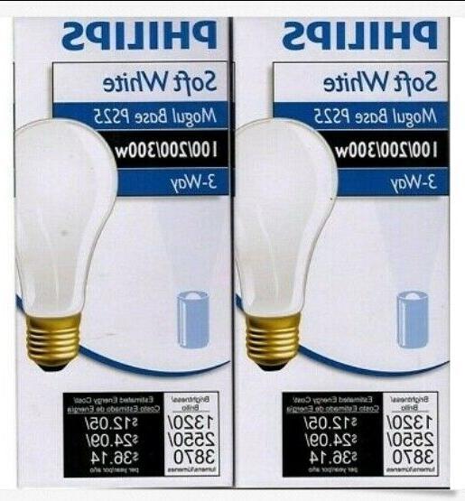BASE PS25 3-WAY LIGHT BULBS