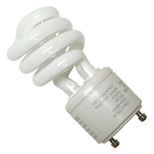 TCP - 60 Watt Soft GU24 Spiral Light