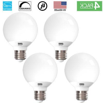 sunco 4 pack g25 led light bulb
