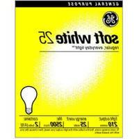 General Electric Ge White Light 25 W 210 Med Pack