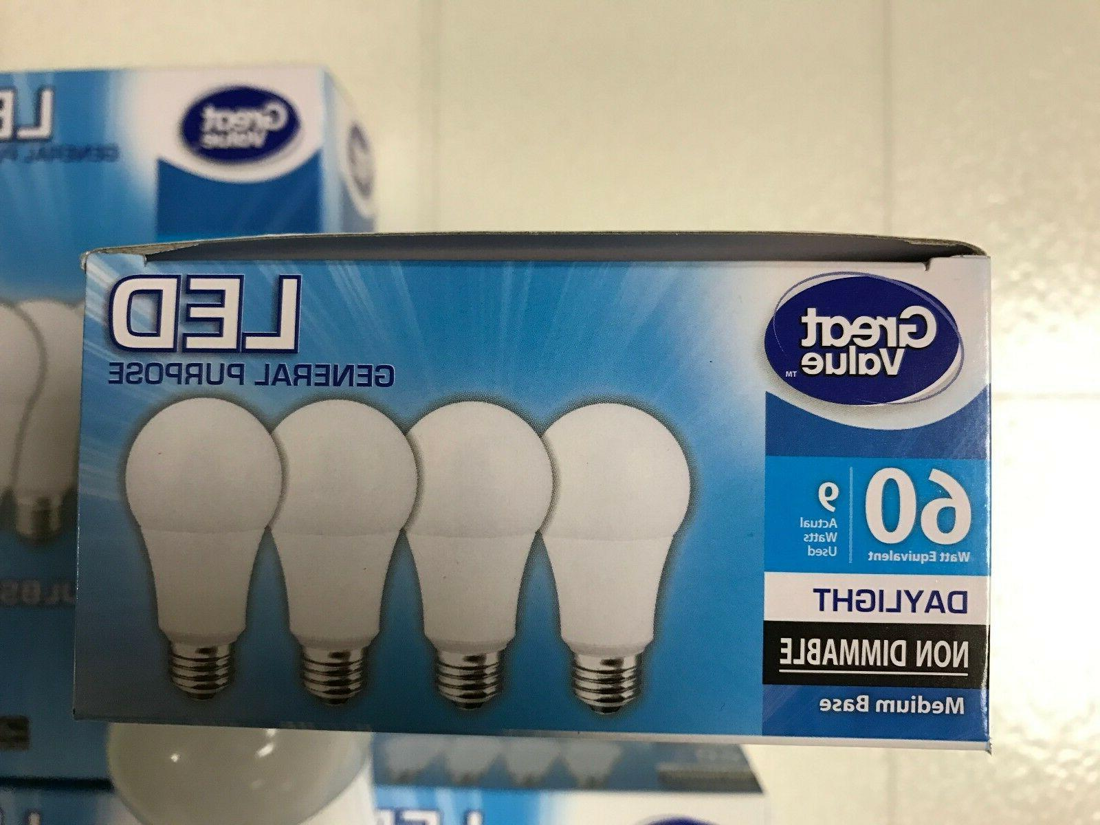 Sweet Pack LED 60W 60 A19 5000K light bulb