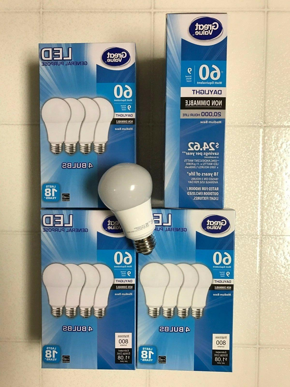 Sweet LED 60W 60 Equivalent A19 5000K bulb