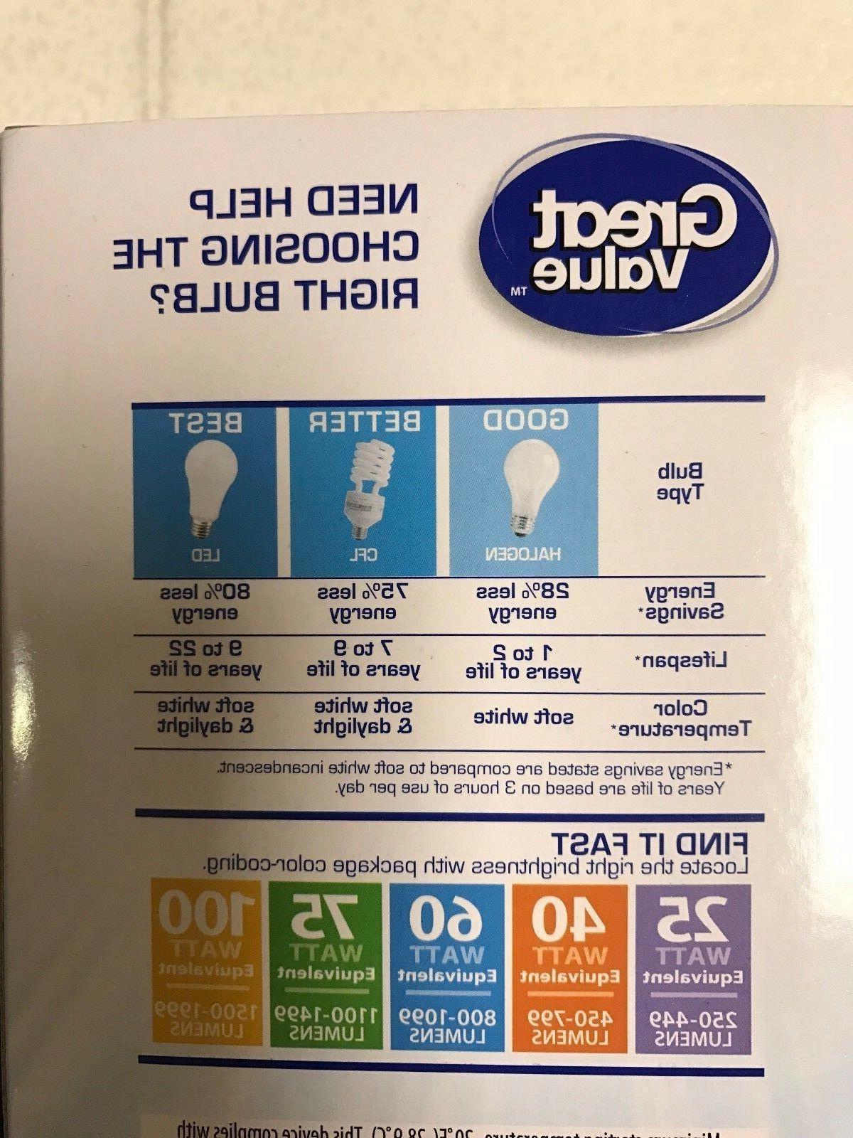 Sweet 16 LED 60W = 9W Daylight 60 5000K light