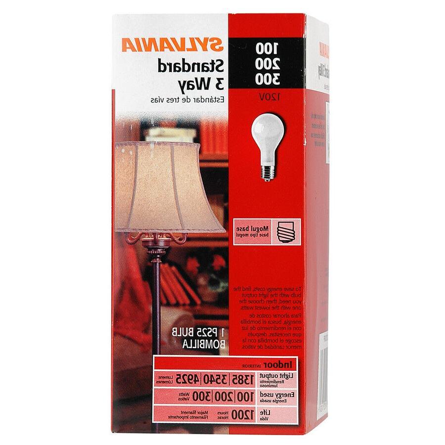 sylvania mogul base 3 way light bulbs