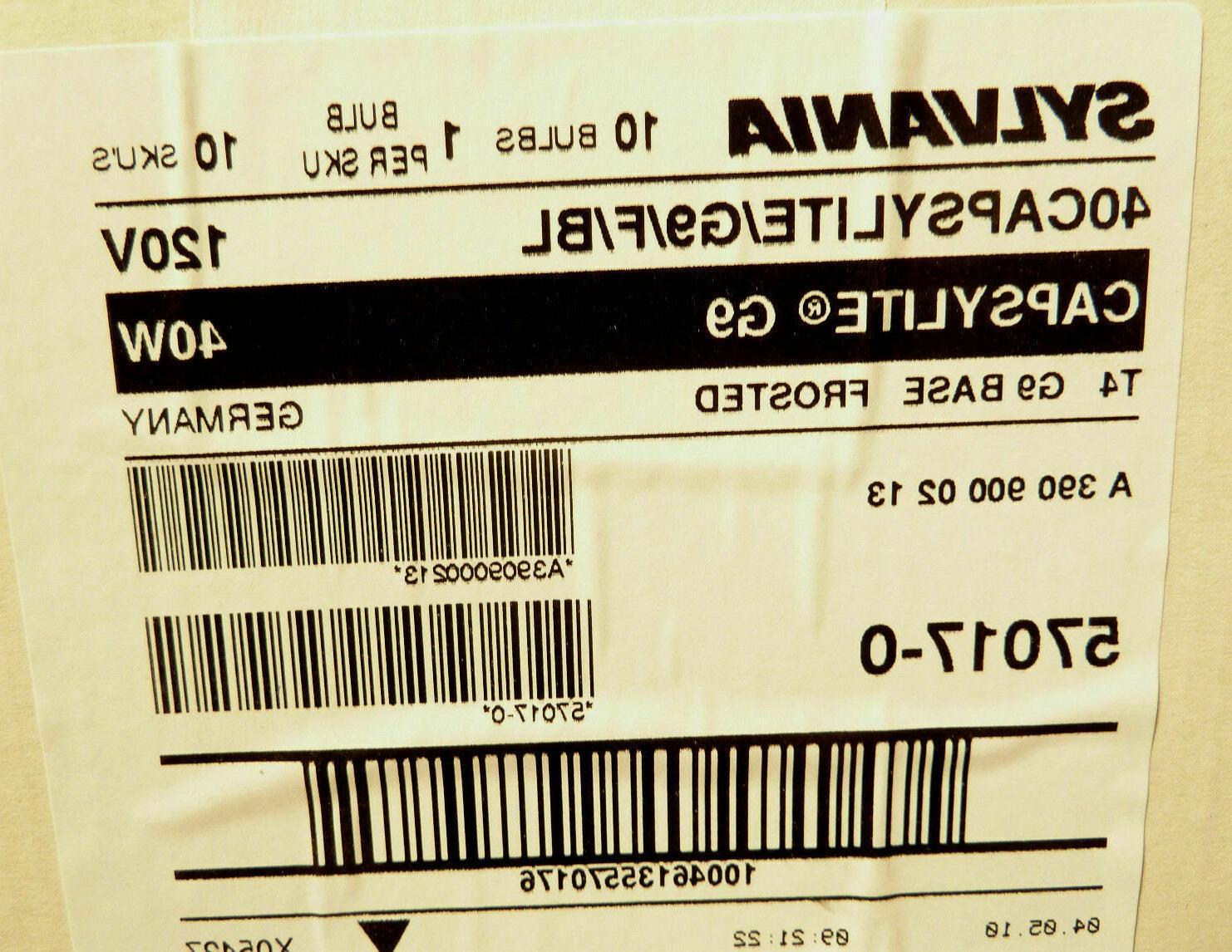 Sylvania T4 Halogen Light Bulb 120V -
