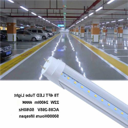 CNSUNWAY T8 4FT LED Tube 6000K