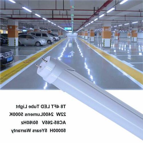 CNSUNWAY Tube Light Bulbs 22W/60W G13 Powered 6000K