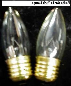 Set of 2 Touch Light Bulbs for OK Lighting 14 Inch Touch Lam