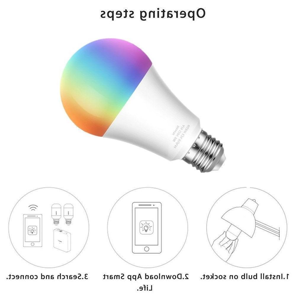 Wifi Bulb RGBW Home