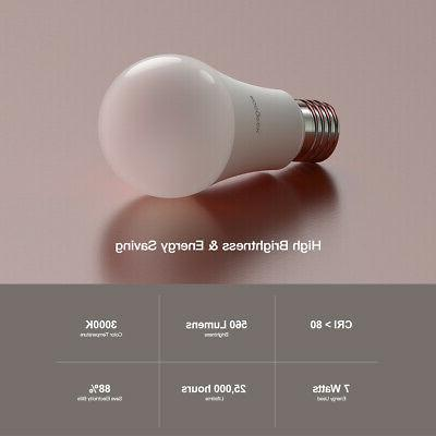 wifi smart led light bulb f alexa