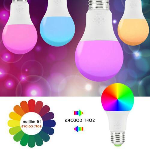 wifi smart led light bulb for alexa