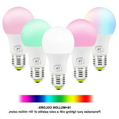 WiFi Dimmable Multicolor No Hub Required Alexa&Google