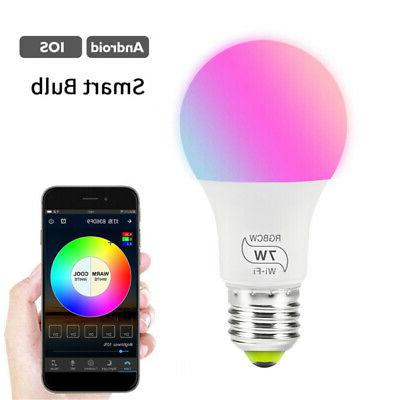 WiFi Dimmable Multicolor Required
