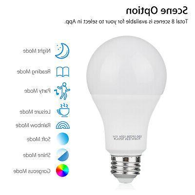WiFi Smart Light Bulb for /Alexa APP