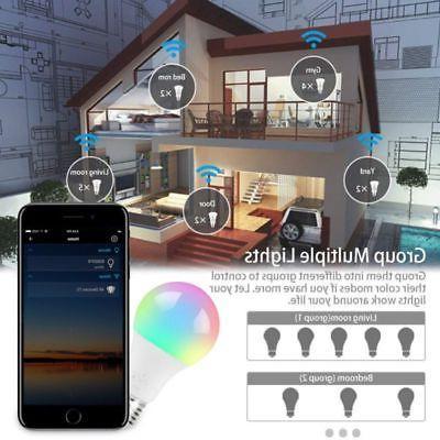 Wifi Smart Light Bulb for Alexa/Google