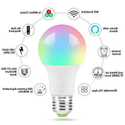 Wifi Multi-Color Light Bulb
