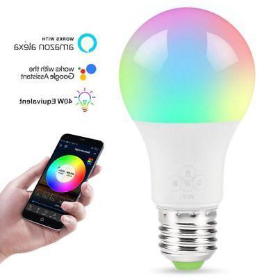 Wifi Smart Light Bulb Alexa/Google