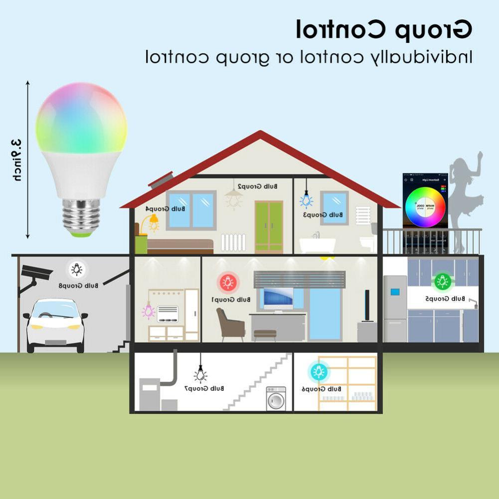 Wifi Smart LED Light Bulb for Alexa/Google