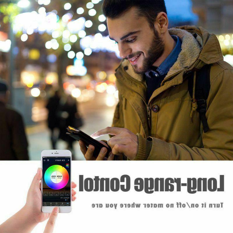 Wifi Smart Light Bulb for Alexa/Google App Control
