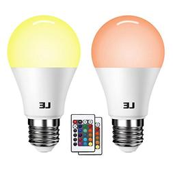 LE A19 E26 LED Light Bulb, 40 Watt Incandescent Equivalent,