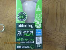 Greenlite LED 3-Way Bulb 30 / 70 / 100 Watt Bulbs 3w/9w/12w