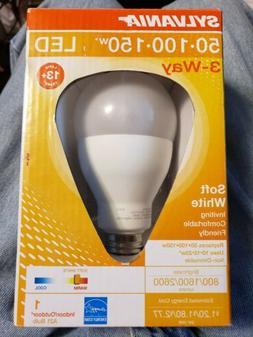 Sylvania LED 3-Way Soft White Light Bulb 50-100-150 in/outdo
