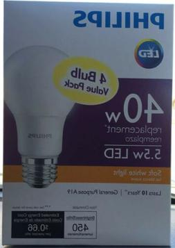 Philips LED 40W Equivalent Light Bulbs