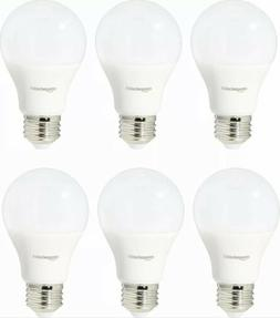 AmazonBasics LED 60 Watt Equivalent Light Bulb, Soft White,