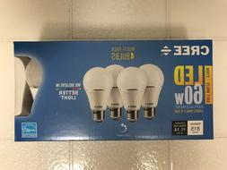 CREE LED 60W = 10W Soft White DIMMABLE 60 Watt Equivalent A1