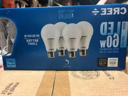 Cree LED A19 Light Bulbs 8.5w 60w Dimmable Daylight