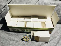 Sansun Led Bulbs 12 Pack 2.4watts 3000k Cct 200lm 12v A/D GU