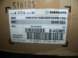 Sylvania LED Bulbs 120V 13W BR40 Medium Base 12 ea. 79624-5