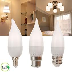 LED Candle Light Bulbs 15 Watt Equivalent E12 E26 E27 B22 E1