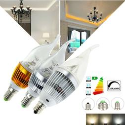LED Candle Light Bulbs 40 Watt Equivalent Dimmable E27 E12 E