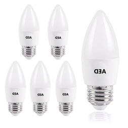 LED Candle light bulbs E26, 60W Equivalent Daylight4000K for