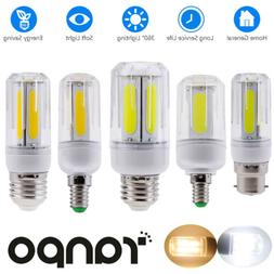LED Corn COB Light Bulbs E26 E27 E12 B22 E14 12W 16W Ultra B