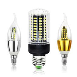 LED Corn <font><b>Bulb</b></font> Lamp E27 E14 110V 220V SMD