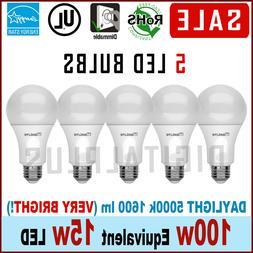 led daylight dimmable light bulb 15 watt