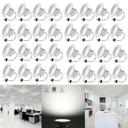 LED Downlight Dimmable 32 Pack 4 Inch Recessed Ceiling Light