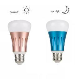 LED Dusk to Dawn Light Bulb Outside Light Sensor 7W E27 Smar