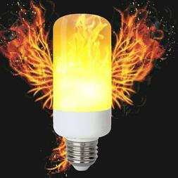 LED Flame Effect Light Bulb, Flickering Emulation Decorative