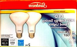 LED Flood Lights Indoor Outdoor ENERGY STAR 2BULBS 65w to