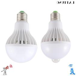 LATTUSO LED <font><b>Bulb</b></font> Motion Sensor Lamp 220V