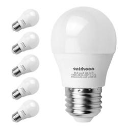 LED Globe Light Bulbs 40 Watts, Aooshine 4 Watt Soft White 2