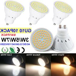 LED GU10 Light Bulbs 3~7W Halogen Replacement Warm/Natural/C