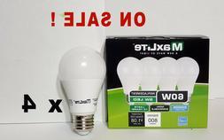 LED Light Bulb MAXLITE 60W Equivalent DAYLIGHT 5000K A19, LO