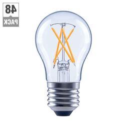 EcoSmart LED Light Bulb Soft White 40 Watt A15 Appliance Dim