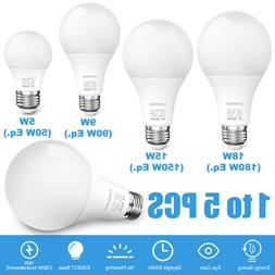 LED Light Bulbs 180W 150W 90W 50W E26 6500K Daylight Energy